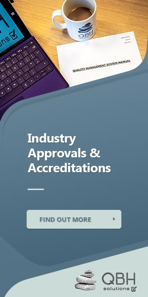 Industry Approvals & Accreditations