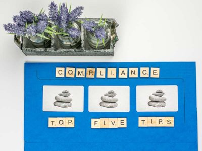 Top Five Tips - Supplier Review